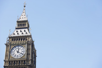 Big Ben's Clock Face, London, England