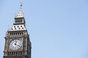 Photo sur Plexiglas Londres Big Ben's Clock Face, London, England
