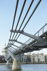 Millennium Footbridge, London, England