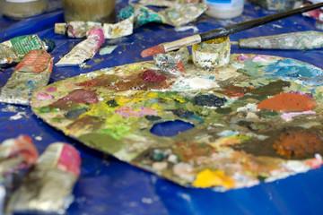Tavolozza da pittore