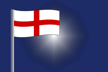 St Georges Cross on England flag