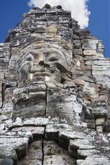 Buddha's Face at Bayon Temple, Cambodia