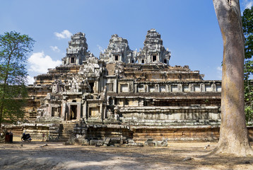 Fototapete - Ta Keo, Cambodia