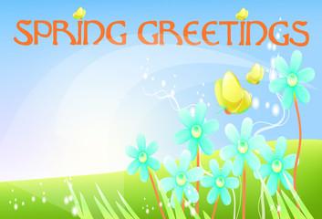 Spring Greetings 4