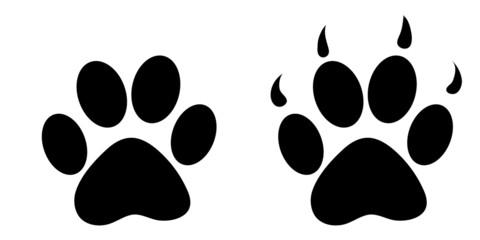 animal foot print illustration