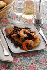Pesce persico con il ragottino - Secondi di pesce lombardia