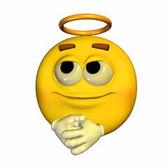 Emoticon - Angel