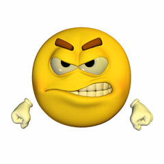 Emoticon - Angry