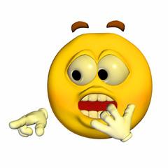 Emoticon - Shocked