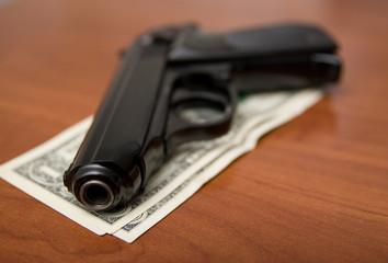 Gun on a few dollars