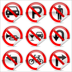Prohibit sign