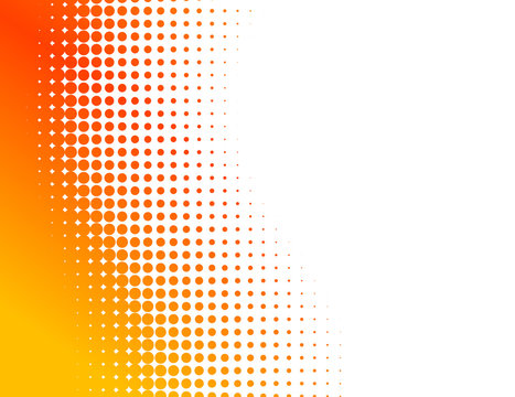 Abstract halftone background.