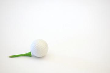 Golf tee e pallina