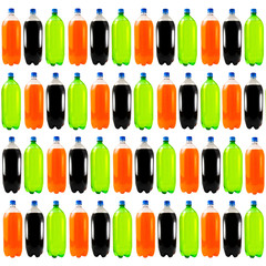 Soda Bottle Background