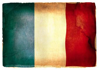 vintage flag of France