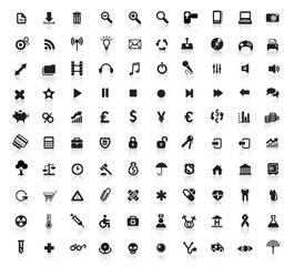 Hundred Icons for Web Applications.