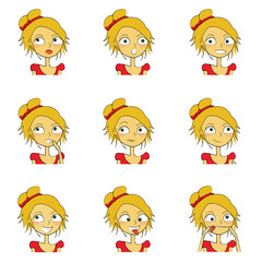 9 femmes expressions