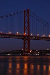 Lisbon Bridge - 'April 25th', Old 'Salazar Bridge', Portugal