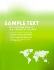 abstract business or ecology template