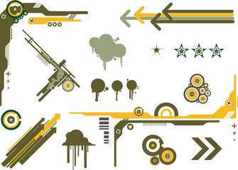 Graphic Design Elements Camo