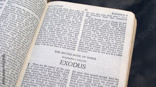 """The book of Exodus"" Stock photo and royalty-free images ..."