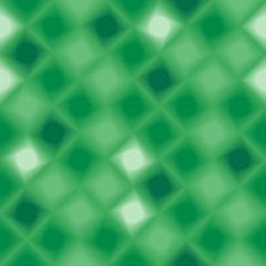 Green 3d tiles. Seamless vector pattern