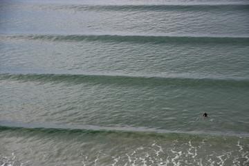 vagues régulières