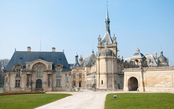 Chantilly, chateau