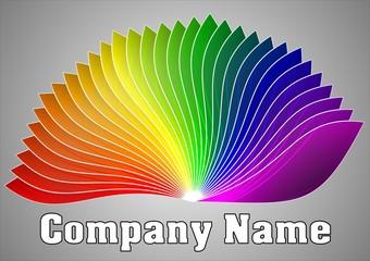 Raibow Editable Logo