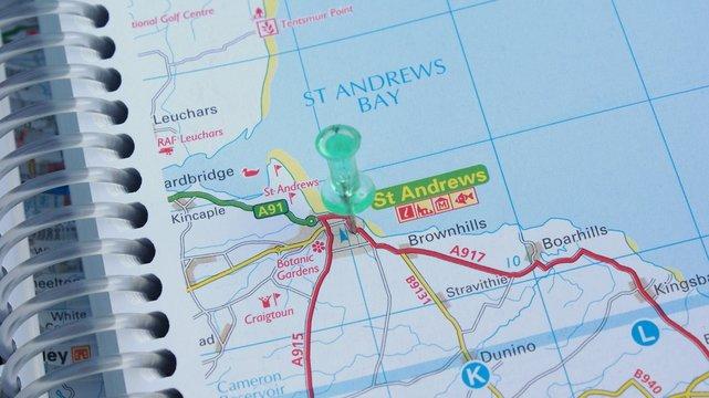 Destination St Andrews!