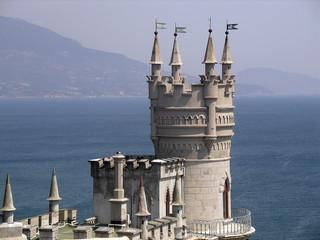 Bird's nest palace, Crimea, Ukraine