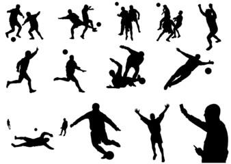 calcio raccolta (vettoriale)