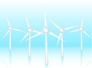 3D vector wind turbines