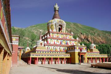 Monastère Wutun - Tongren - Tibet