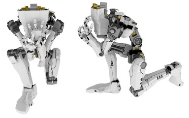 Slim Robot, Kicking