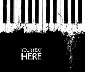 Dirty piano keys