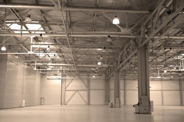 Empty storehouse