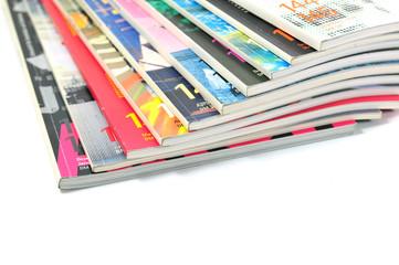 Bunte Zeitschriften