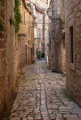 Fototapeta Narrow alley obraz