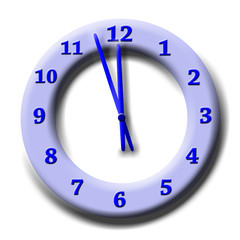 Uhr, Zeit, 3 Minuten vor 12, Umweltschutz
