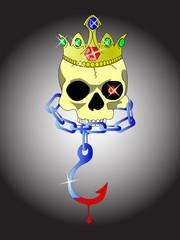skull of king