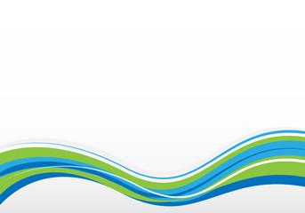 blue/green background illustration