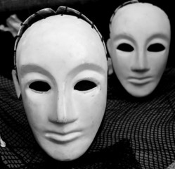 Masks of the Japanese theatre