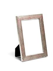 silver desktop picture frame