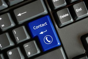 """Contact"" key on keyboard (English/French)"