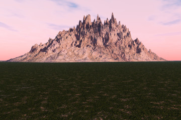 Distant Mountain