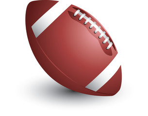 Isolated Football