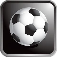 Framed Soccer Ball