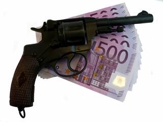 Money & Gun