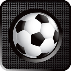 Soccer ball web button